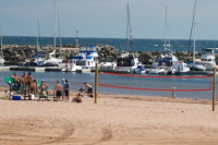 Plage de Chandler (et Volley-Ball de plage)